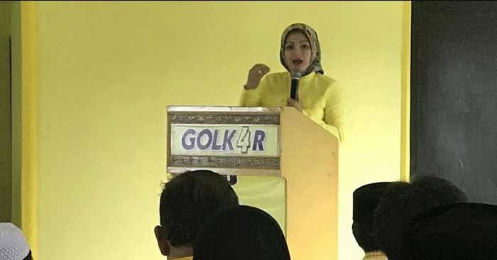 Ade Rossi, Istri Wagub Banten Pastikan Mencalonkan Diri ke DPR RI